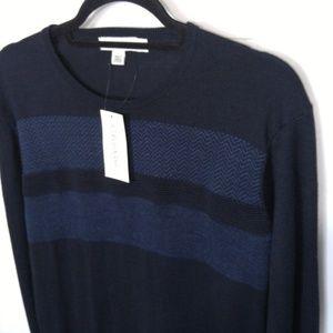 Calvin Klein Sweaters - NWT Calvin Klein Sweater Sz L Crew Pullover Navy